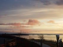 Extremo oriental Portland Maine imagenes de archivo