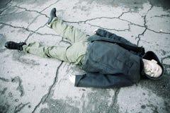 Extremo sin hogar fotos de archivo