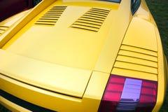 Extremo trasero del coche de deportes Fotos de archivo