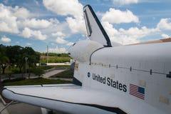 Extremo trasero del transbordador espacial Fotografía de archivo libre de regalías