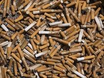 Extremos de cigarrillo Imagen de archivo libre de regalías