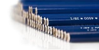 Extremos del lápiz Foto de archivo libre de regalías