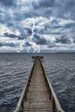 Extremt väder Fotografering för Bildbyråer