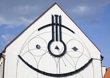 Extérieur d'horloge de Sun Images libres de droits