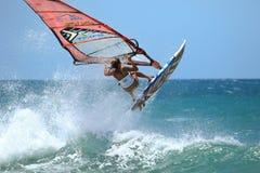 Free Extrim Femail Windsurfing In Jericoacoara Royalty Free Stock Photo - 89285915