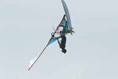 Extrim Windsurfing in Jericoacoara Stock Image