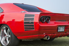 Extrémité arrière de chargeur de Dodge Photographie stock