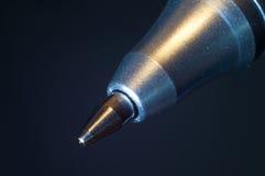 Extrémité d'un stylo à bille Image libre de droits