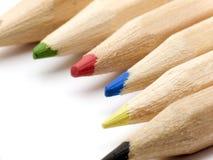 Extrémités de crayon Photographie stock libre de droits