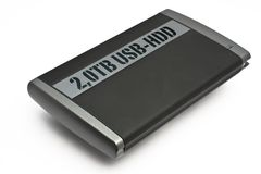 Extrnal USB Hard Disk Drive Royalty Free Stock Photo
