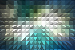 Extrude geometric abstract background Royalty Free Stock Photography