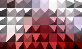 Extrude geometric abstract background Stock Photos