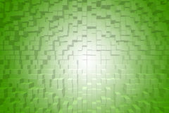 Extrude green gradient abstract background Royalty Free Stock Images