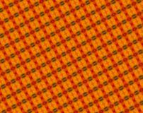 Extruded abstract red, orange and green blocks pattern vector illustration