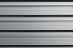 Extruded aluminium bars Stock Photo