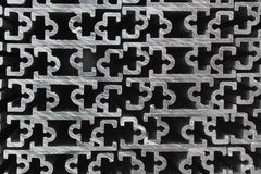 Extruded Aluminium Channel Stock Images