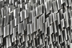 Extruded Aluminum Construction Tubes Royalty Free Stock Photography