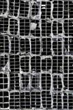Extruded Aluminum Tubes. Stacked, extruded aluminum tubes, Yangon, Myanmar Stock Photo