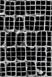 Extruded Aluminum Tubes Royalty Free Stock Photo