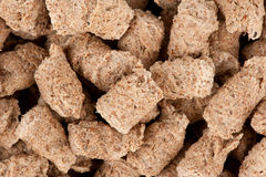 Extruded bran close up Royalty Free Stock Image