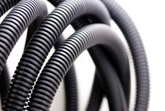 Extruded electrical tube Royalty Free Stock Photo