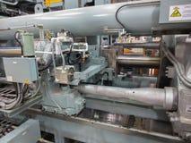 Extrusion aluminium machine Stock Photos