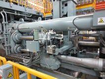 Extrusion aluminium machine Stock Image