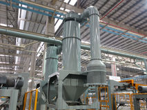 Extrusion aluminium machine Stock Photography