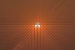 Extude-Sonnenuntergang für Hintergrund Lizenzfreie Stockfotos
