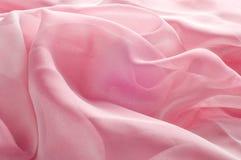 exture, fond, modèle Rose de tissu en soie, soie bien aérée mince fa Photographie stock