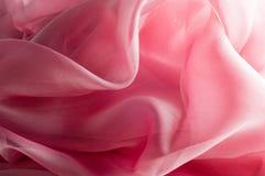 exture, fond, modèle Rose de tissu en soie, soie bien aérée mince fa Images stock