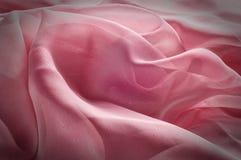 exture, fond, modèle Rose de tissu en soie, soie bien aérée mince fa Photographie stock libre de droits