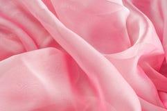 exture, fond, modèle Rose de tissu en soie, soie bien aérée mince fa Image libre de droits