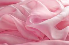 exture, fond, modèle Rose de tissu en soie, soie bien aérée mince fa Photos stock