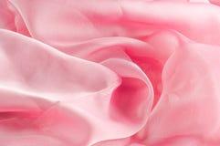 exture, fond, modèle Rose de tissu en soie, soie bien aérée mince fa Photo stock