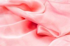 exture, fond, modèle Rose de tissu en soie, soie bien aérée mince fa Photo libre de droits