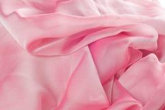exture, fond, modèle Rose de tissu en soie, soie bien aérée mince fa Photos libres de droits