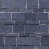Exture sans couture de brickwall grunge de bleu marine 3d rendent illustration stock
