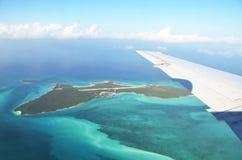 Exuma岩礁 戽水者 库存图片