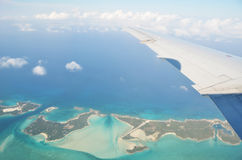 Exuma Cays. Bahamas Stock Image