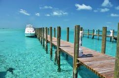 Exumas, Bahamas. Staniel Cay yacht club. Exumas, Bahamas stock photos