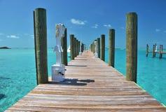 Exumas, de Bahamas Stock Foto