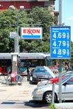 ExxonMobil bensinstation Royaltyfri Foto