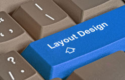 лey for layout design Royalty Free Stock Photos
