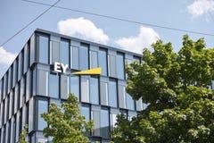 Ey München stockfotografie