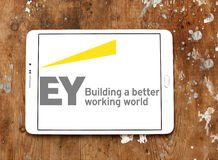 Ey sevices company logo Royalty Free Stock Photo