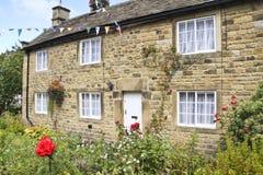 Eyam Rose Cottage Royalty Free Stock Photo