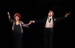 Eydie Gorme y Steve Lawrence Fotografía de archivo