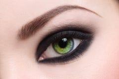 eye женщина s Стоковая Фотография