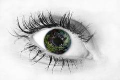 eye человек Стоковое Изображение RF